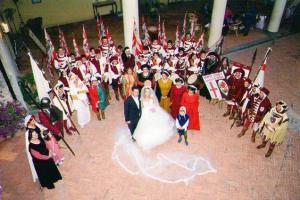 Matrimonio sbandieratori