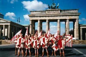 Berlino - aprile 1997 - La 500° manifestazione