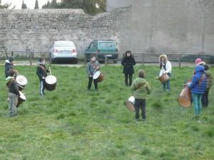 Allenamenti dei tamburi under
