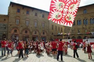 Festeggiamenti per le vittorie - Volterra 2010
