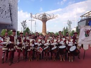 Esibizione a EXPO 2015